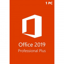 Microsoft Office Proffessional Plus 2019 1 PC