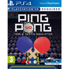 Ping Pong VR Table Tennis Simulator