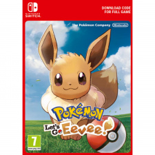 Pokemon Let's Go! Eevee Switch skaitmeninis