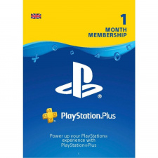 Playstation Plus 1 mėnesio prenumerata UK skaitmeninis