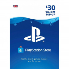 £30 Playstation Network Wallet Top Up