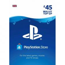 £45 пополнение кошелька PlayStation