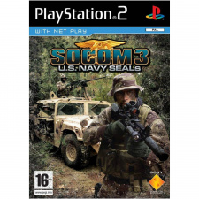 SOCOM 3 (Socom III) US Navy SEALs Platinum Solus PS2