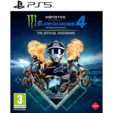 Monster Energy Supercross The Official Videogame 4 PS5