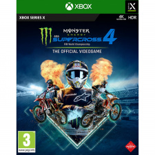 Monster Energy Supercross The Official Videogame 4 Xbox Series X