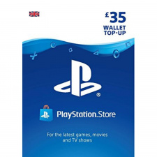 £35 Playstation Network Wallet Top Up