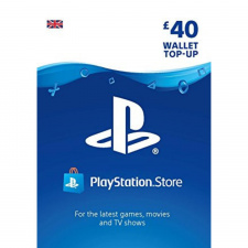Playstation piniginės £40 papildymas