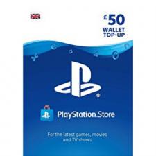Playstation piniginės £50 papildymas