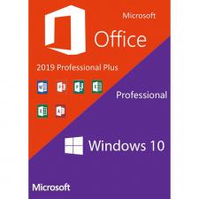 Windows 10 Pro + Office Pro+ 2019 PC skaitmeninis
