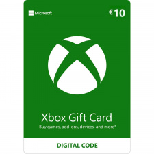 Xbox €10 dovanų kortelė (kodas) EU regionas