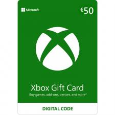 Xbox €50 dovanų kortelė (kodas) EU regionas