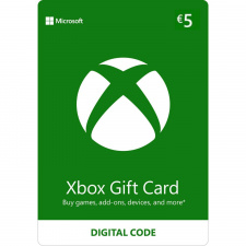 Xbox €5 dovanų kortelė (kodas) EU regionas