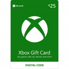 Xbox €25 dovanų kortelė (kodas) EU regionas
