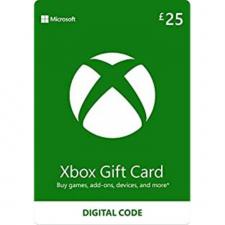 Xbox £25 dovanų kortelė (kodas) UK regionas