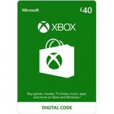 Xbox £40 dovanų kortelė (kodas) UK regionas